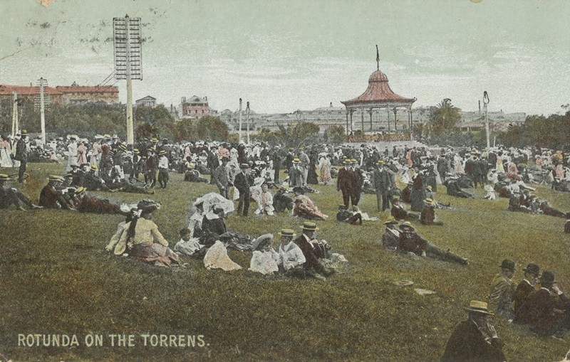 Elder Park Rotunda, 1910