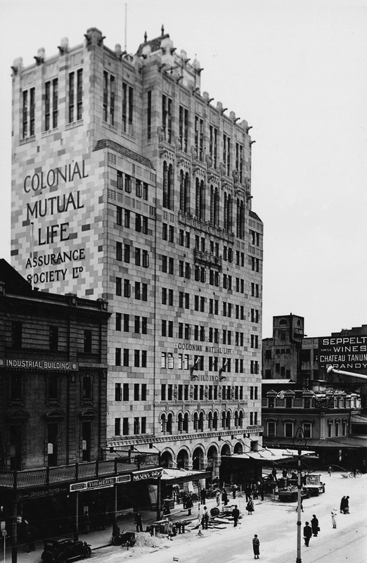 The CML building, 1935