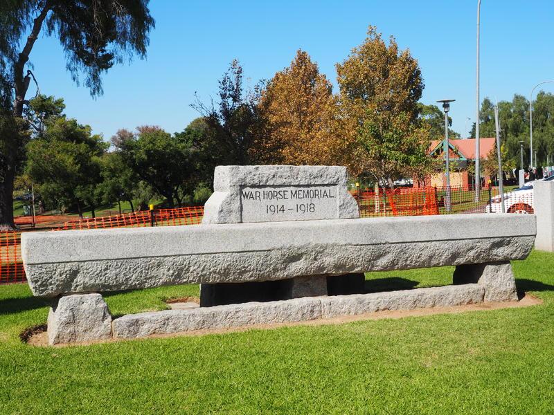 War Horse Memorial, 2016.