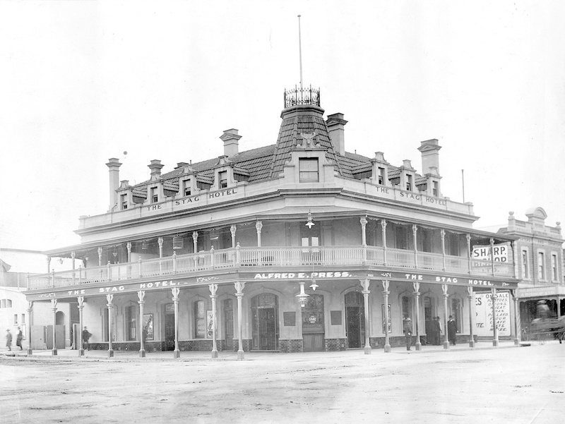 Stag Hotel, c1910