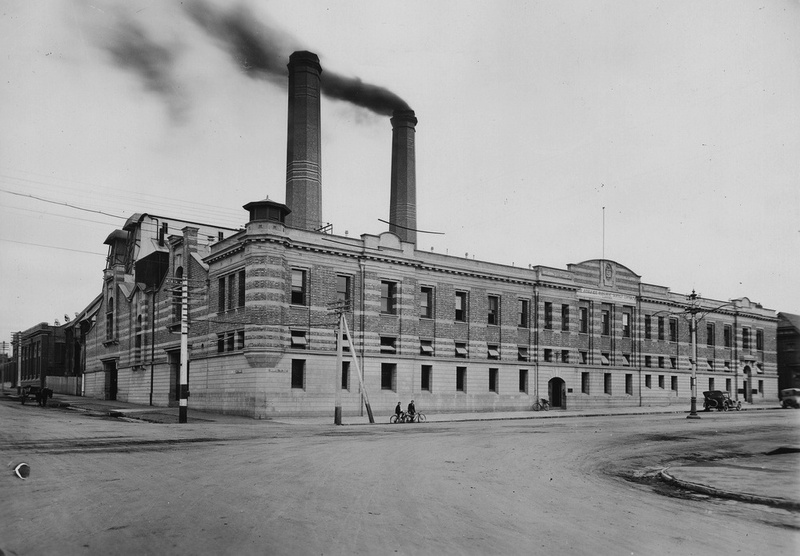 The modified Grenfell Street offices of the Adelaide Electric Supply Company in 1923