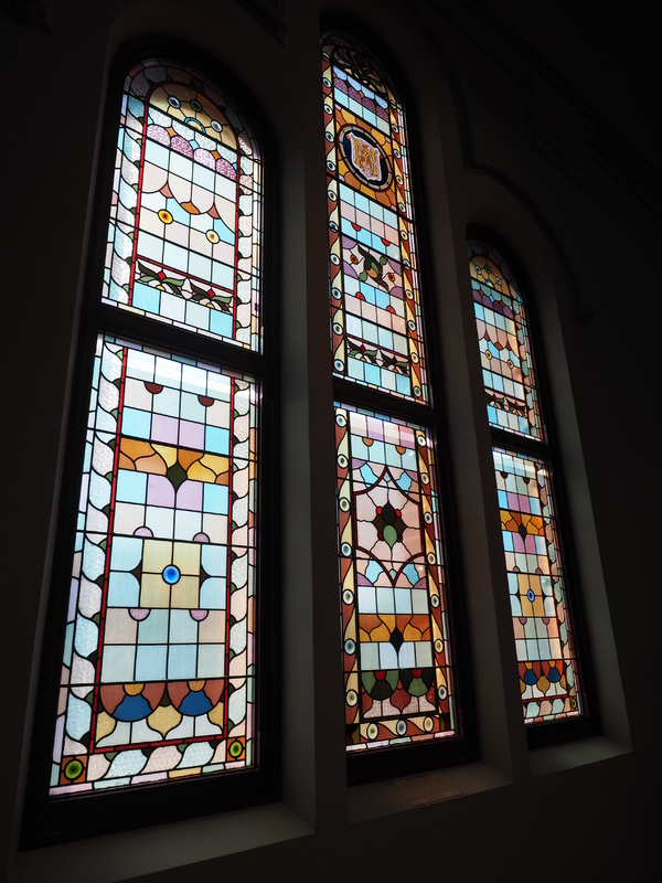 Montgomery and Grimbly Windows, South Australian Museum