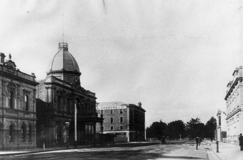 Adelaide Arcade, Grenfell Street, 1891