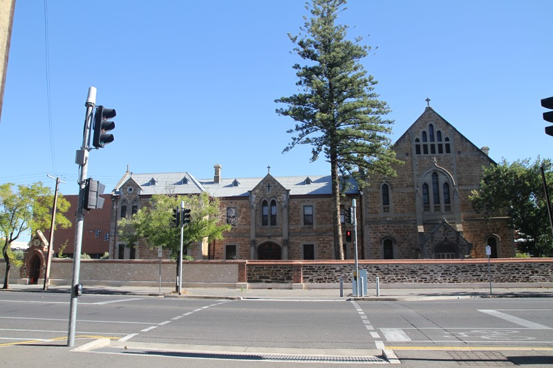 The Convent and Boylan buildings, St Mary's College, Franklin Street