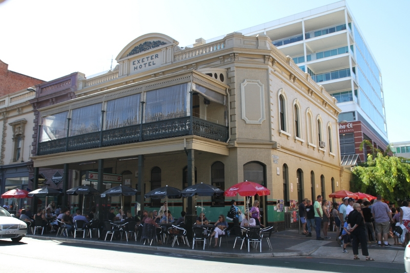 Exeter Hotel, Rundle Street, 2014