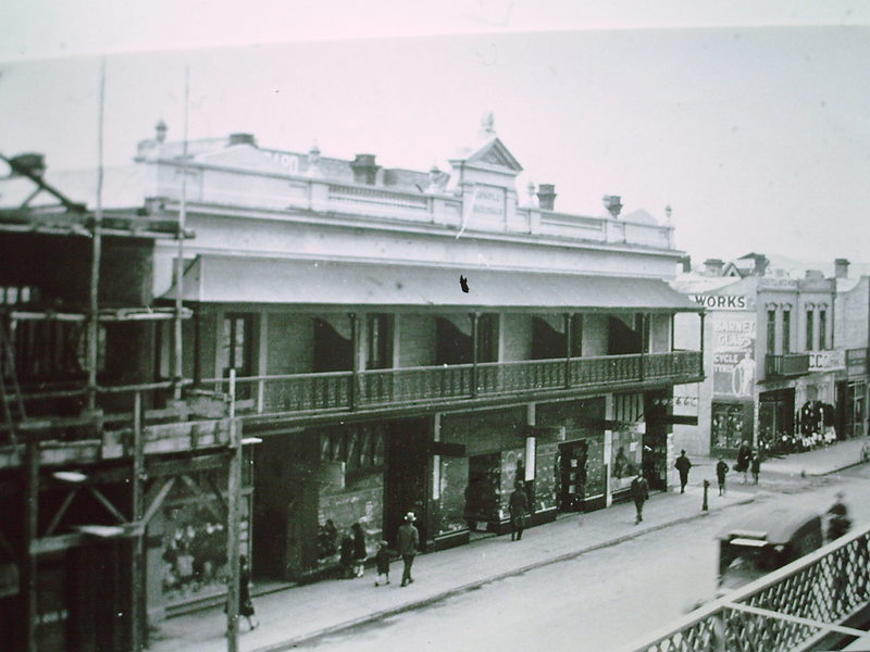 Synagogue Shops, Rundle Street
