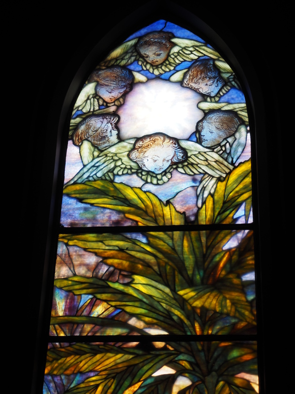 Detailed view of the <em>River of Life </em>window