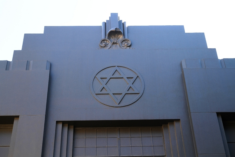 The former Synagogue in Synagogue Place:
