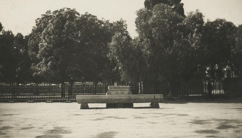 War Horse Memorial, Victoria Square, c1923