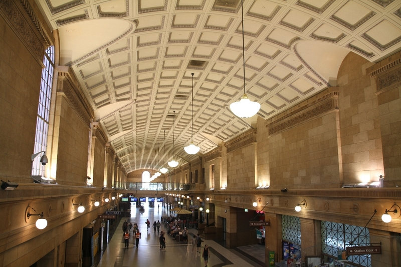 Adelaide Railway Station, Interior, 2014