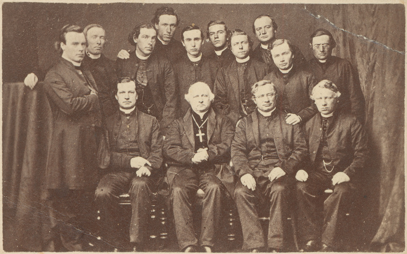Group of Catholic Clergymen of Archdiocese of Adelaide, 1868