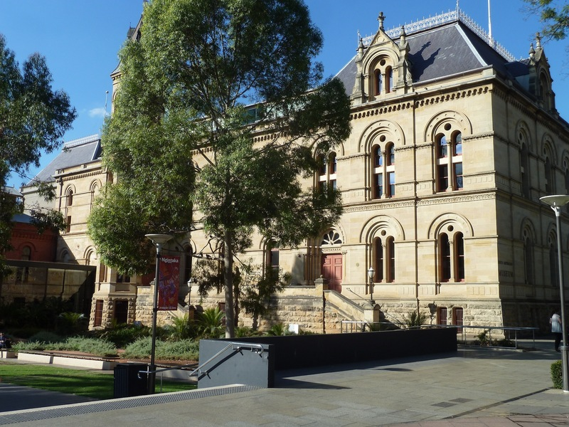 East Wing, South Australian Museum, North Terrace, 2014