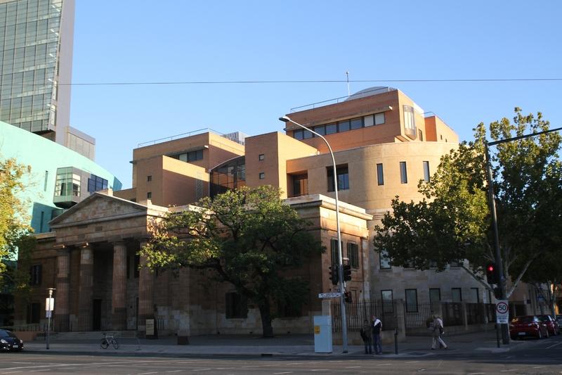 Adelaide Magistrates Court, Victoria Square, 2014