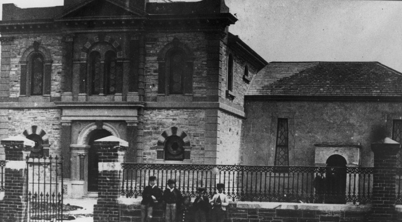 The Synagogue on Rundle Street, 1870