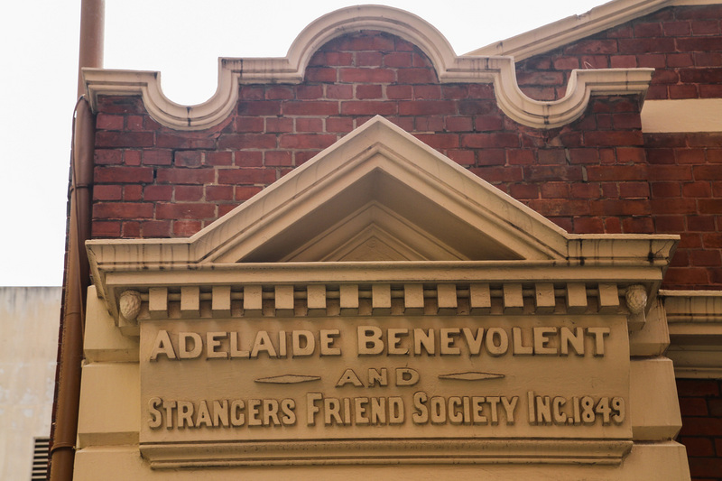 Elder Hall pediment