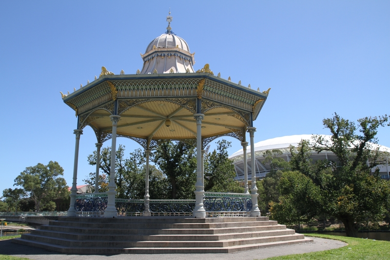 Elder Park Rotunda, 2014