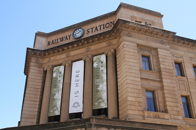 Adelaide Railway Station, 2014