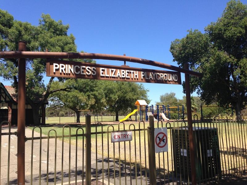 Princess Elizabeth Playground, South Terrace