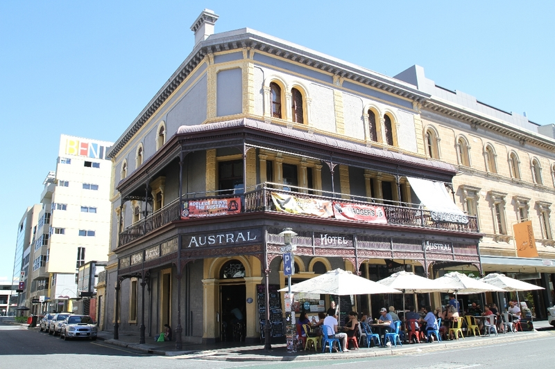 Austral Hotel, Rundle Street, 2014