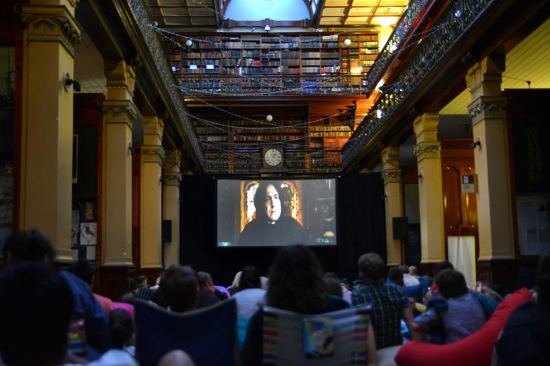 Mortlock Wing hosts a 'Harry Potter' film marathon, 2016
