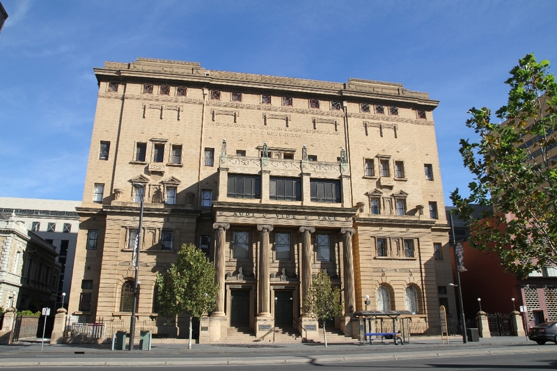 Freemasons Hall, North Terrace, 2014