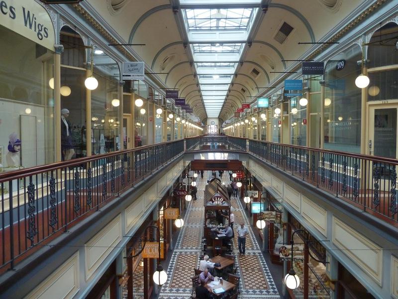 Adelaide Arcade today