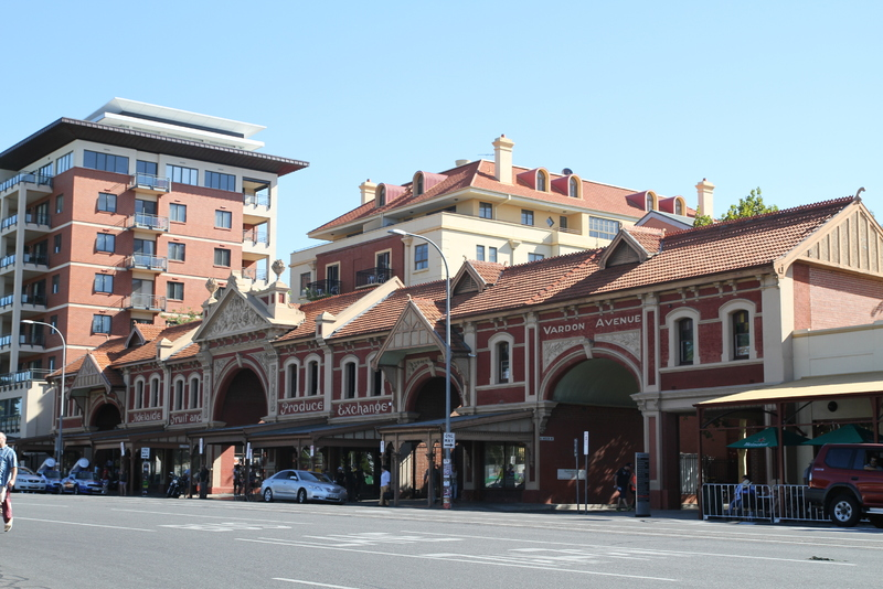 Adelaide Fruit and Produce Exchange, East Terrace facade