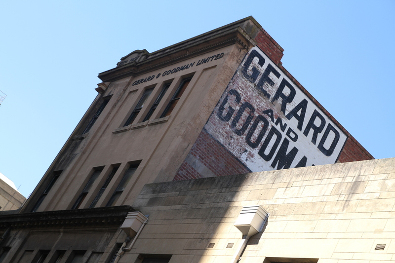 Gerard & Goodman Building from Synagogue Place, 2014.