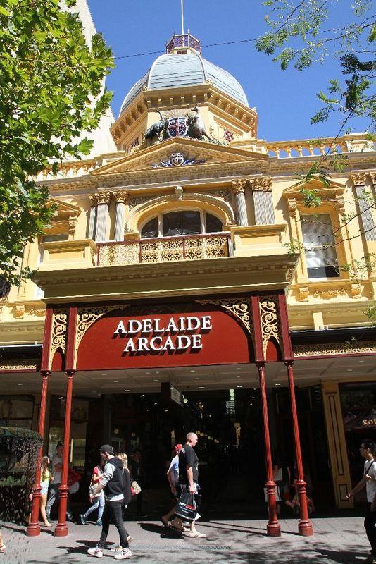 Adelaide Arcade, Rundle Mall, 2014.