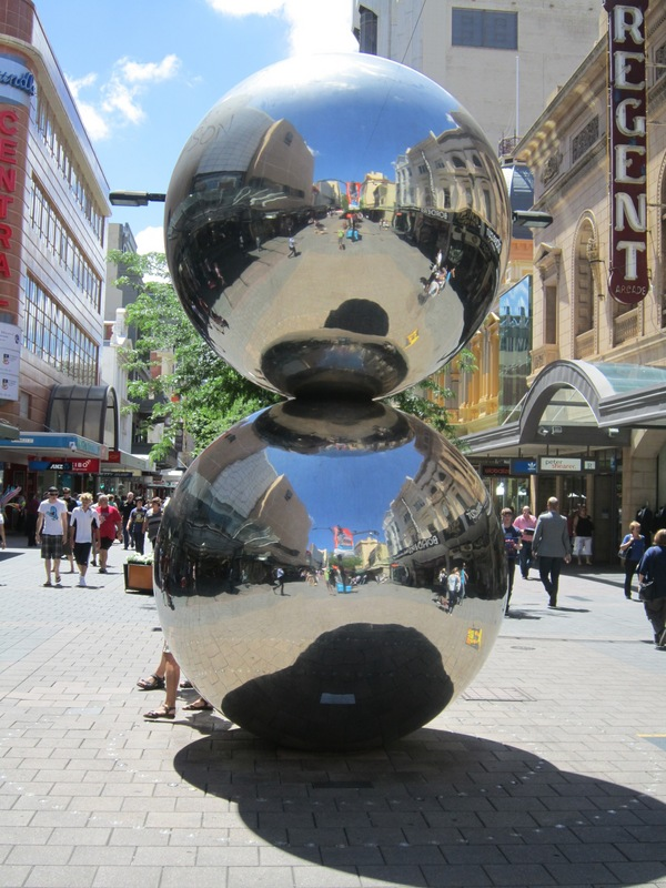 Malls Balls, Rundle Mall