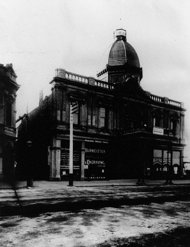 Adelaide Arcade, Grenfell Street, 1900