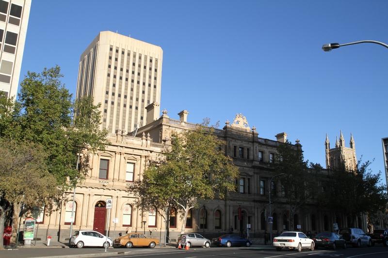 Torrens Building, Victoria Square, 2014
