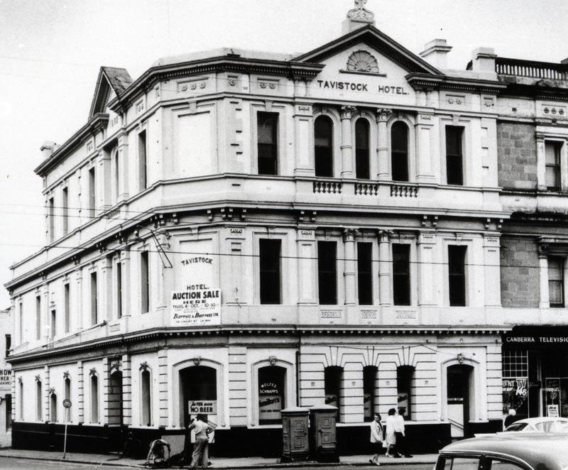 Tavistock Hotel, Rundle Street