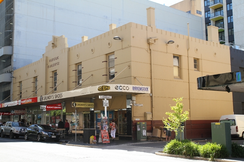 Synagogue Shops on Rundle Street