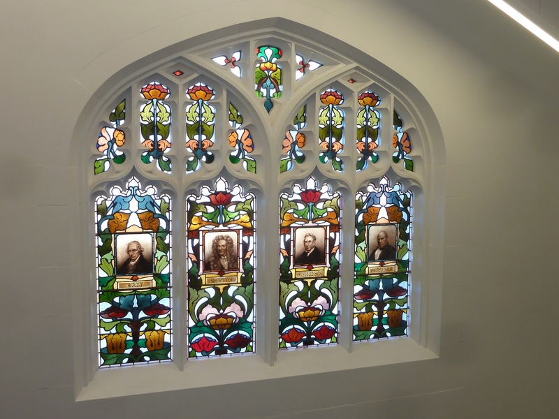 Stained glass windows, School of Mines and Industry Building, University of South Australia, 2014
