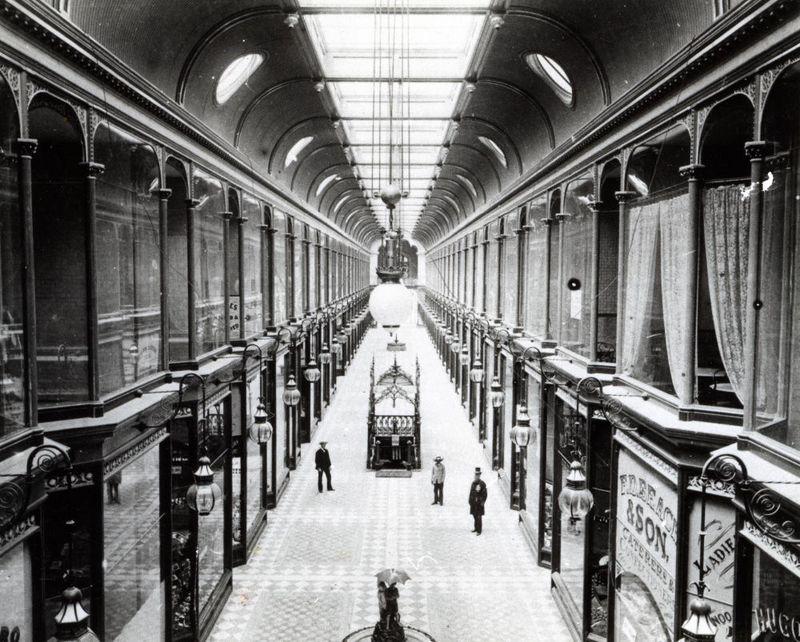 Interior view of Adelaide Arcade