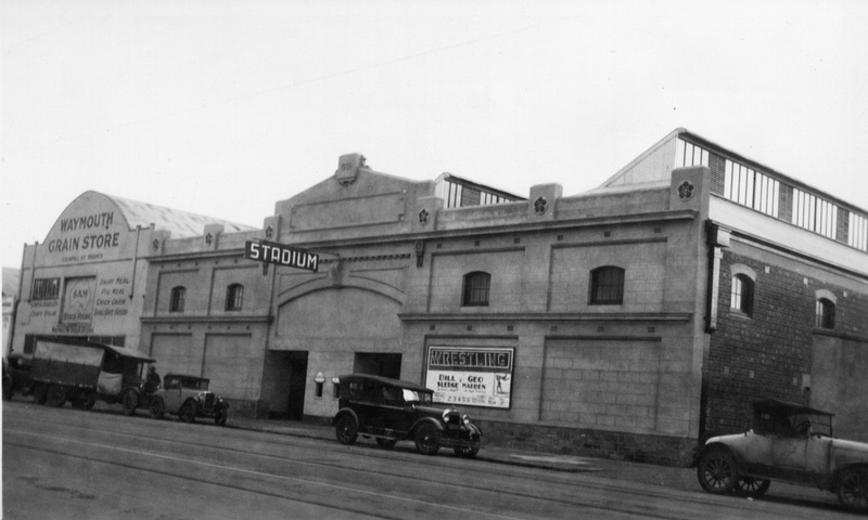The Grenfell Street Stadium, 29 May 1940.