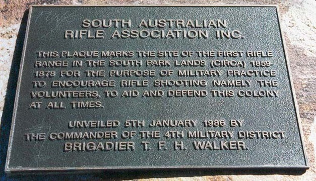 Rifle butts monument