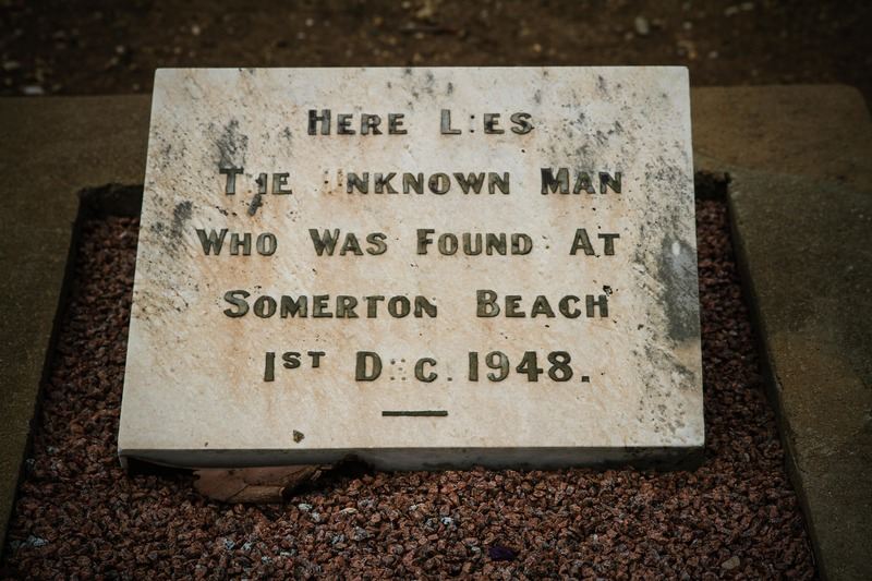 The grave of the Somerton Man