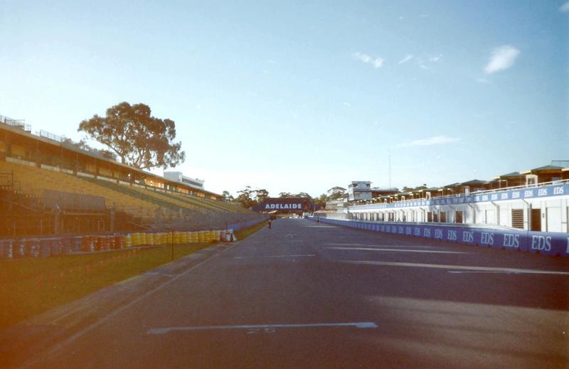 Australian Grand Prix track