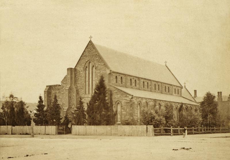 St Paul's Church on Pulteney Street, c1870
