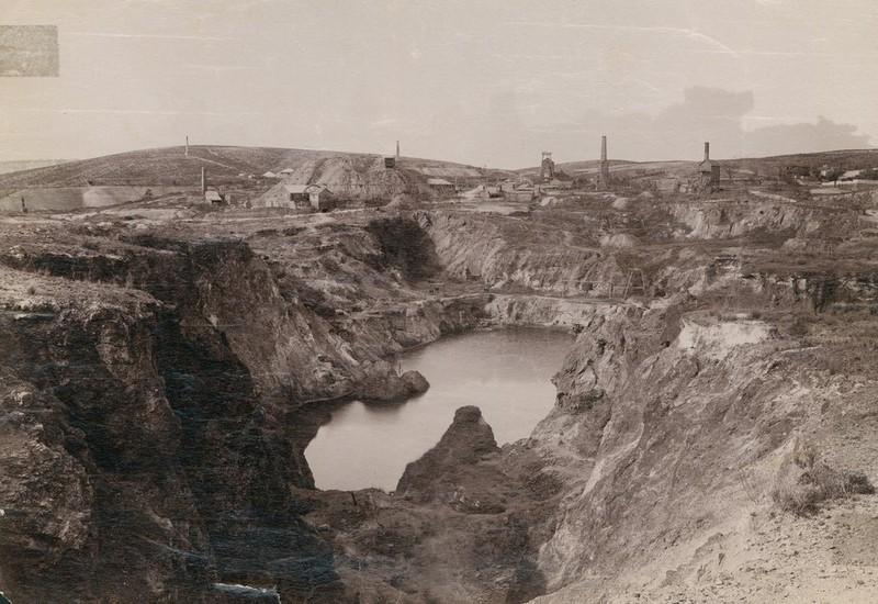 Burra Mines, 1880