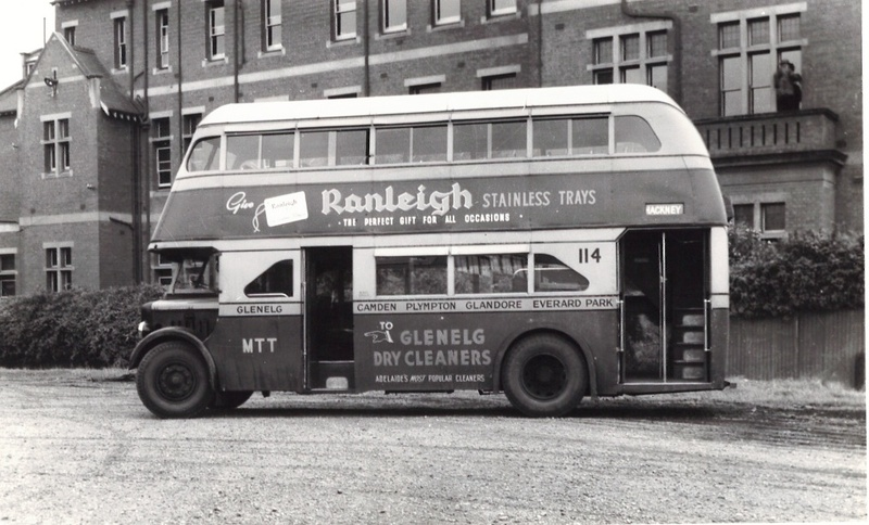 Adelaide's double-decker buses