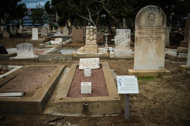 Somerton Man's grave, West Terrace Cemetery